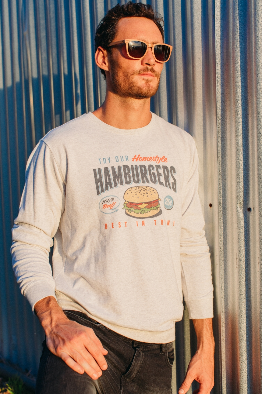 Sweat-Shirt - Hamburgers