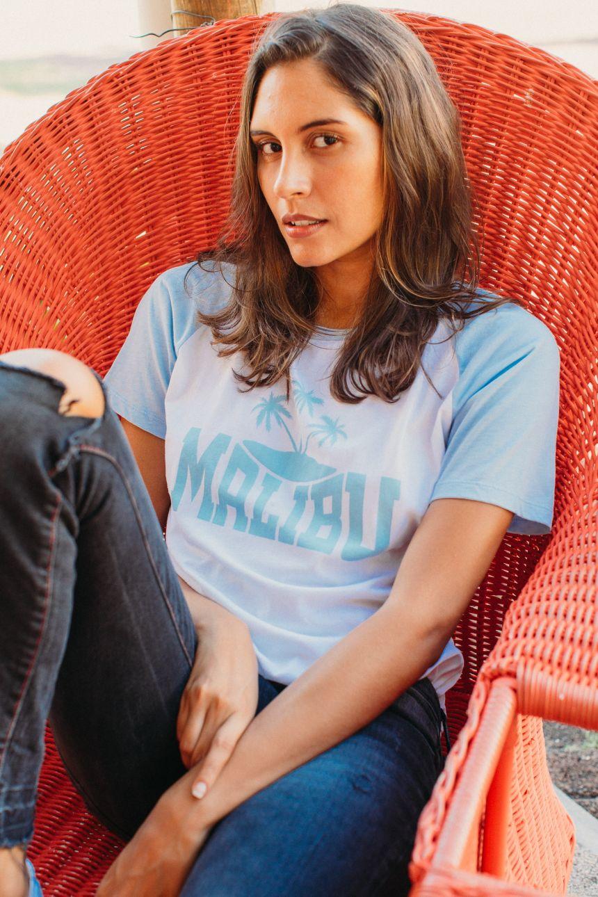 T-Shirt baseball - Malibu
