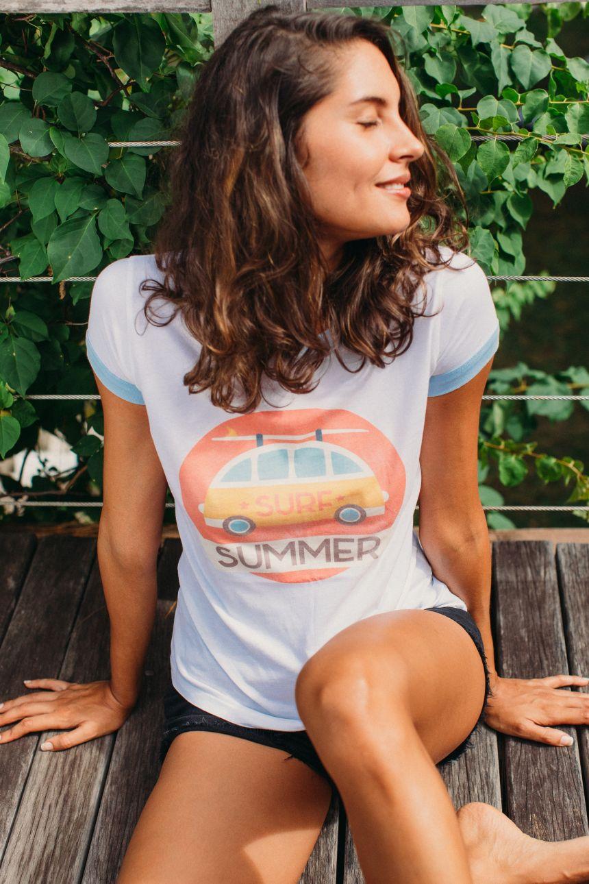T-Shirt Bord Côte - Van