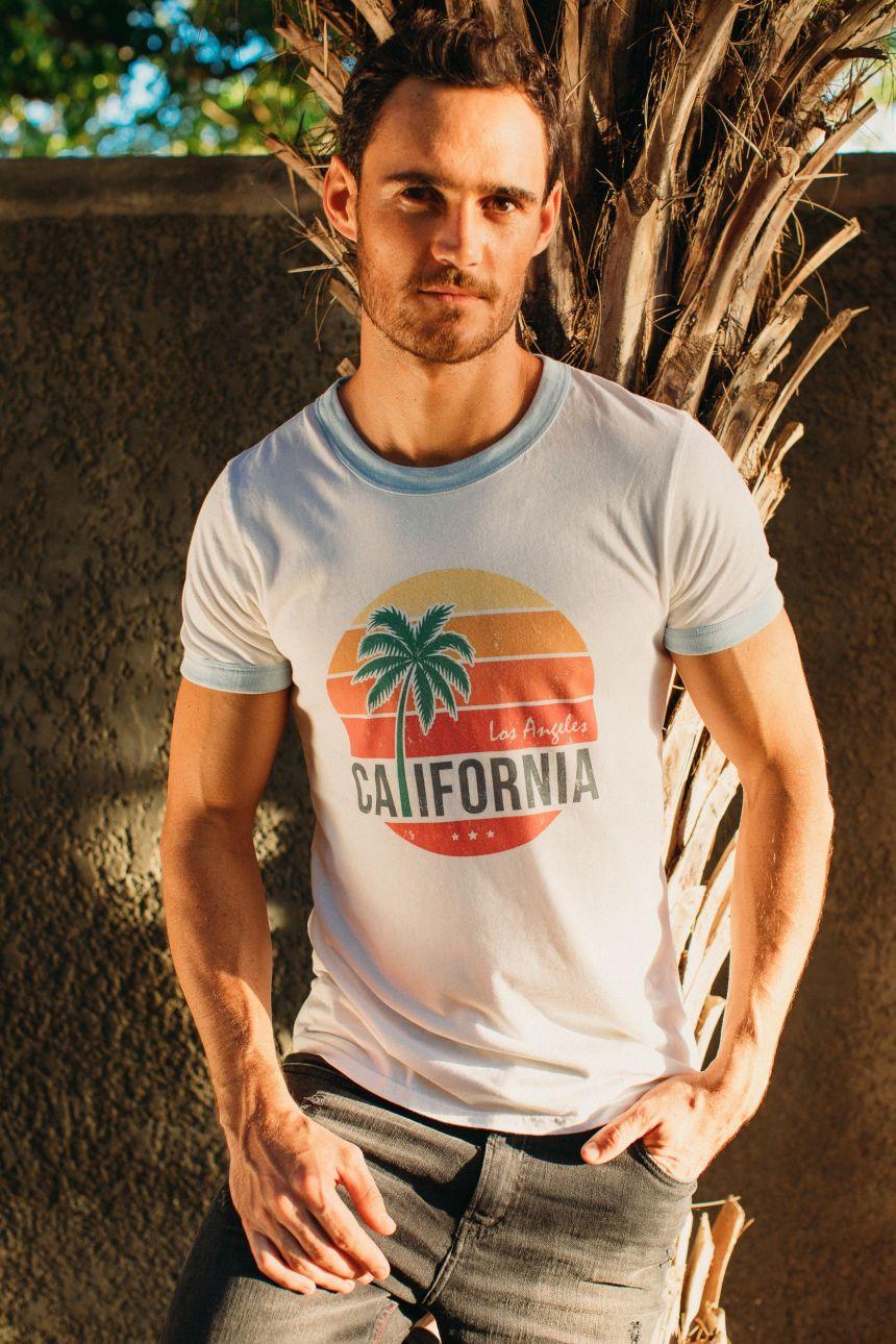 T-Shirt Bord Côte - California